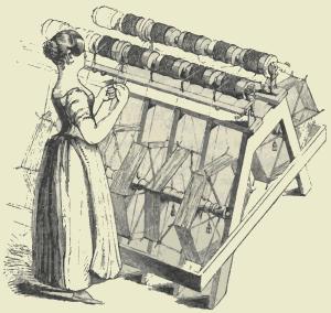 Berkshire genealogy silk weaving